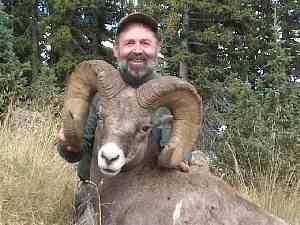 Dave Lechel with his 175 4/8 Ram